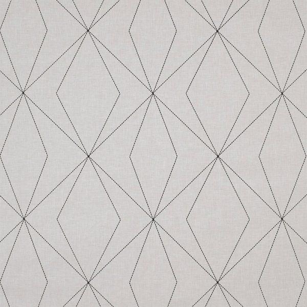 Casadeco Berlin Art 81409105 Noir and Gris Fabric