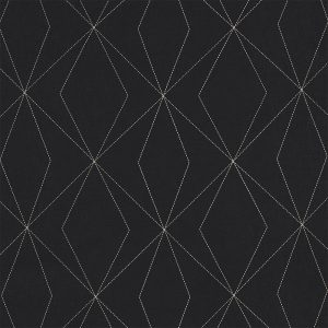 Casadeco Berlin Art 81409316 Gris & Noir Fabric