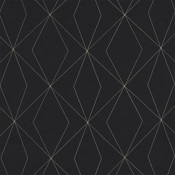 Casadeco Berlin Art 81409316 Gris & Noir Fabric