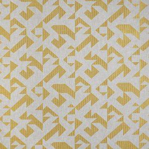 Casadeco Berlin Puzzle 81422224 Jaune Fabric