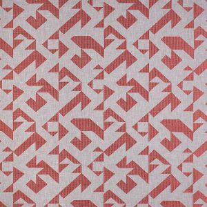 Casadeco Berlin Puzzle 81423208 Corail Fabric