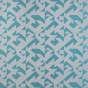 Casadeco Berlin Puzzle 81426206 Emmeraude Fabric