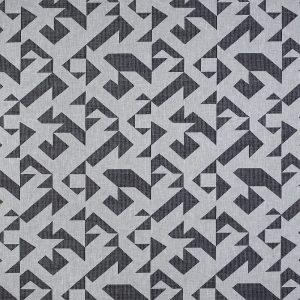 Casadeco Berlin Puzzle 81429325 Noir Fabric