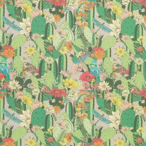 Matthew Williamson Deya Cactus Garden F7247-03 Fabric