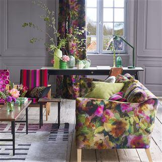 Designers Guild Jaipur Rose Surimono Berry FDG2818-01