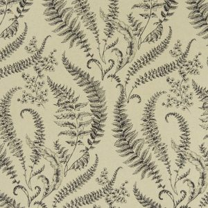 Clarke and Clarke Eden Folium Linen F1328-04
