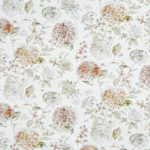 Prestigious Textiles Full Bloom Pivoine tissu de coton.