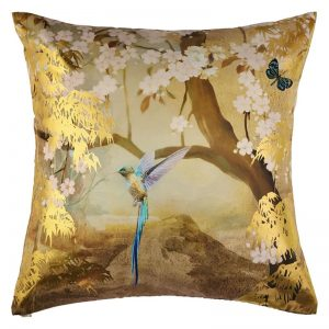 Arthouse Suki Teal Foil Cushion & Pillow