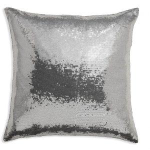 Arthouse Platinum Sequin Cushion