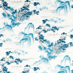 Floating Mountains Fabric 322725 by Zoffany