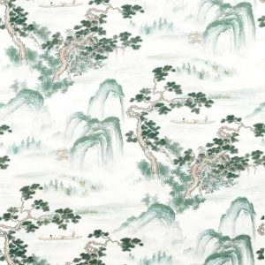 Floating Mountains Fabric 322724 by Zoffany
