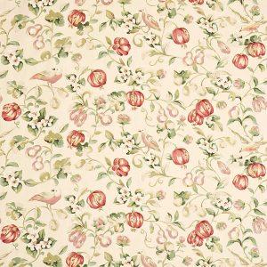 Pear & Pomegranate Fabric by Sanderson DAPGPE203