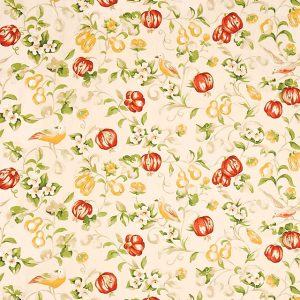Pear & Pomegranate Fabric by Sanderson DAPGPE205