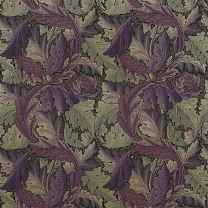 Acanthus Tapestry Fabric 230271 by William Morris & Co