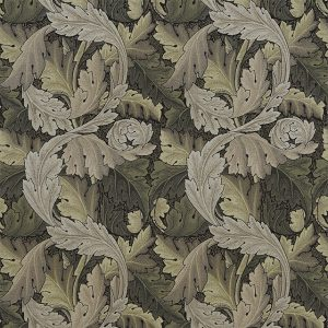 Acanthus Tapestry Fabric 230273 by William Morris & Co