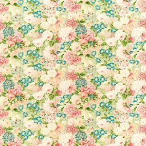 Rose & Peony Fabric by Sanderson 226860