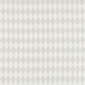 Casadeco Alice and Paul Losange AES28239222 Gris Fabric
