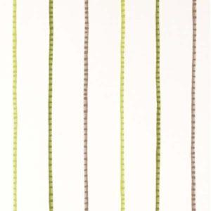 Casadeco Alice and Paul Rayure Jungle AEP17747418 Vert Fabric