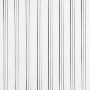 Casadeco Alice and Paul Rayure Panda AEP25709636 Noir Fabric