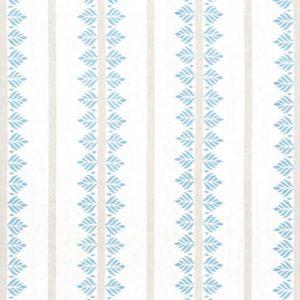 Anna French Antilles Fern Stripe AF15103 Spa Blue Fabric