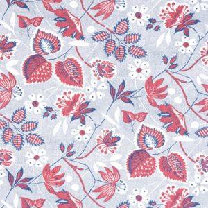 Anna French Antilles Indienne Hazel AF15115 Red Fabric