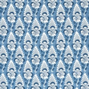 Anna French Antilles Cornwall AF15120 Blue Fabric