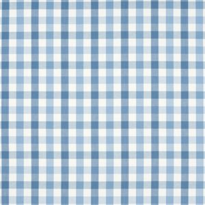Anna French Antilles Saybrook Check AW15147 Light Blue Fabric