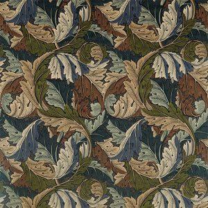 Acanthus Fabric 226401 by William Morris & Co