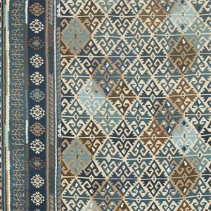 Burdock & Star Fabric 236519 by William Morris & Co