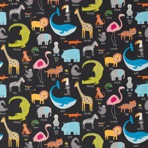 Animal Magic Fabric 120468 by Scion