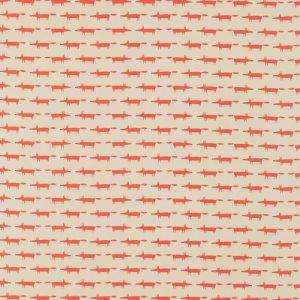 Little Fox Fabric 120462 by Scion