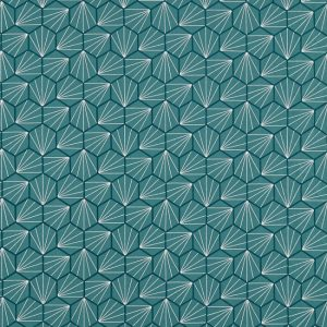 Aikyo Fabric 132736 Teal by Scion