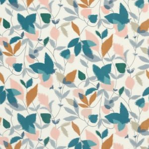 Akira Fabric 120751 Ginger Teal by Scion