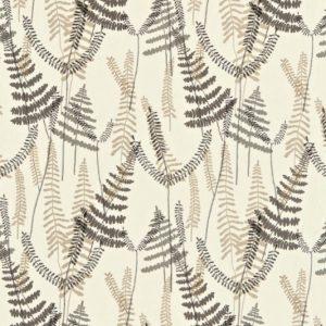 Athyrium Fabric 130353 Chalk by Scion