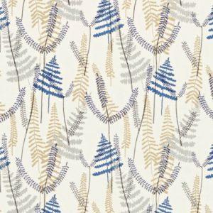 Athyrium Fabric 130354 Denim by Scion