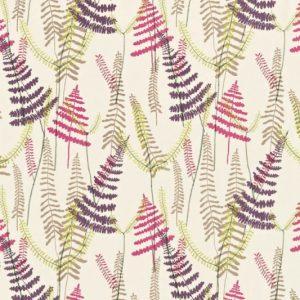 Athyrium Fabric 130355 Plum by Scion