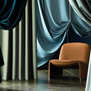 Wool Satin Fabrics by Zoffany