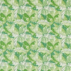 Acanthus Fabric 226896 by Morris & Co