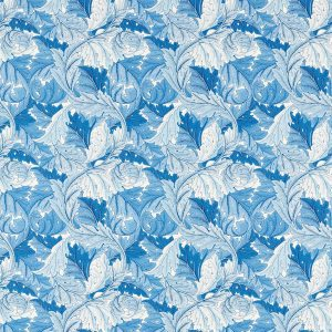 Acanthus Fabric 226897 by Morris & Co